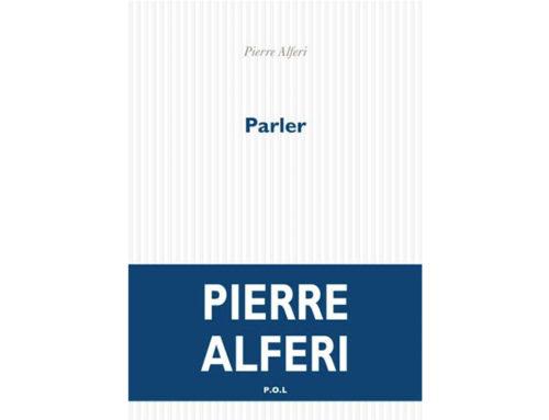 PARLERPierre Alferi